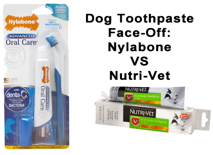 nylabone vs nutrivet dog toothpaste