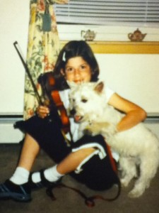 Eons ago, when I still had Nicky and a violin and a killer tan.