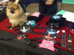 GeorgyGirl leather harnesses safe for small dogs