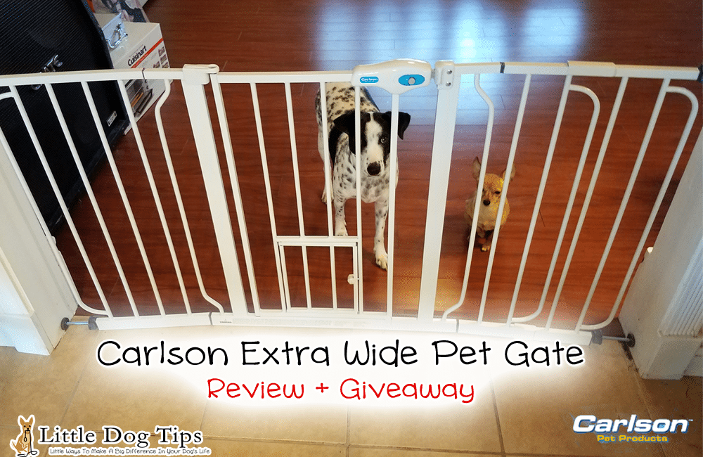 Review/Giveaway Carlson Pet Extra Wide Pet Gate #0934 #sponsored