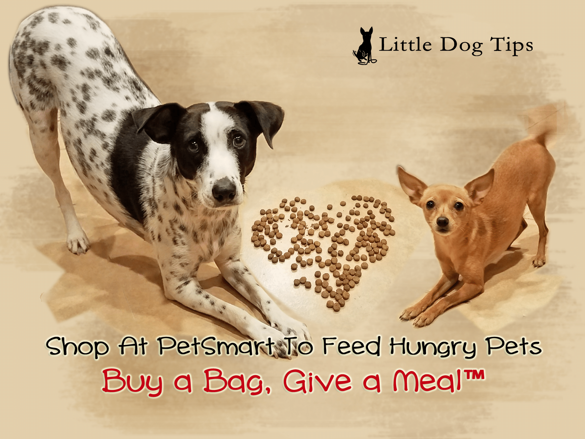 Help Feed Hungry Pets With PetSmart® Buy a Bag, Give a Meal ...