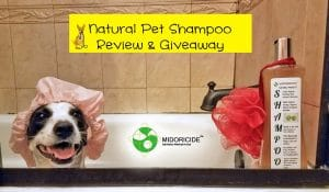 Natural Pet Shampoo Review and Giveaway