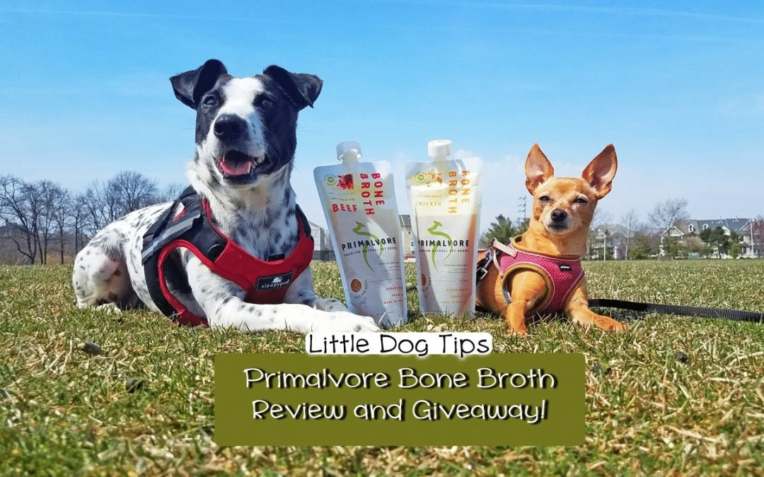 Primalvore Bone Broth review - benefits for dog health