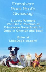 Bone Broth For Dogs Giveaway!