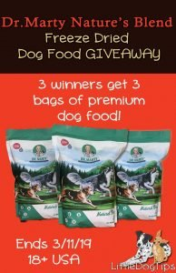 Dr Marty Freeze Dried Dog Food #Giveaway #ad