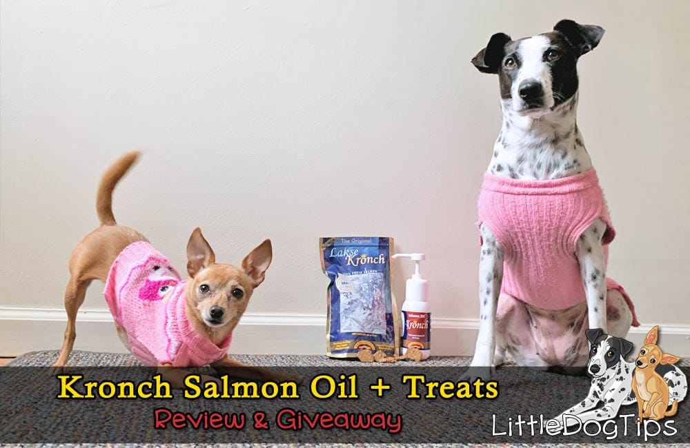Kronch Salmon Oil And Treats Review/Giveaway