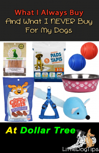 Dollar Tree Pet Supplies, Canine Carryouts, Puppy Pads, Leashes, Treats
